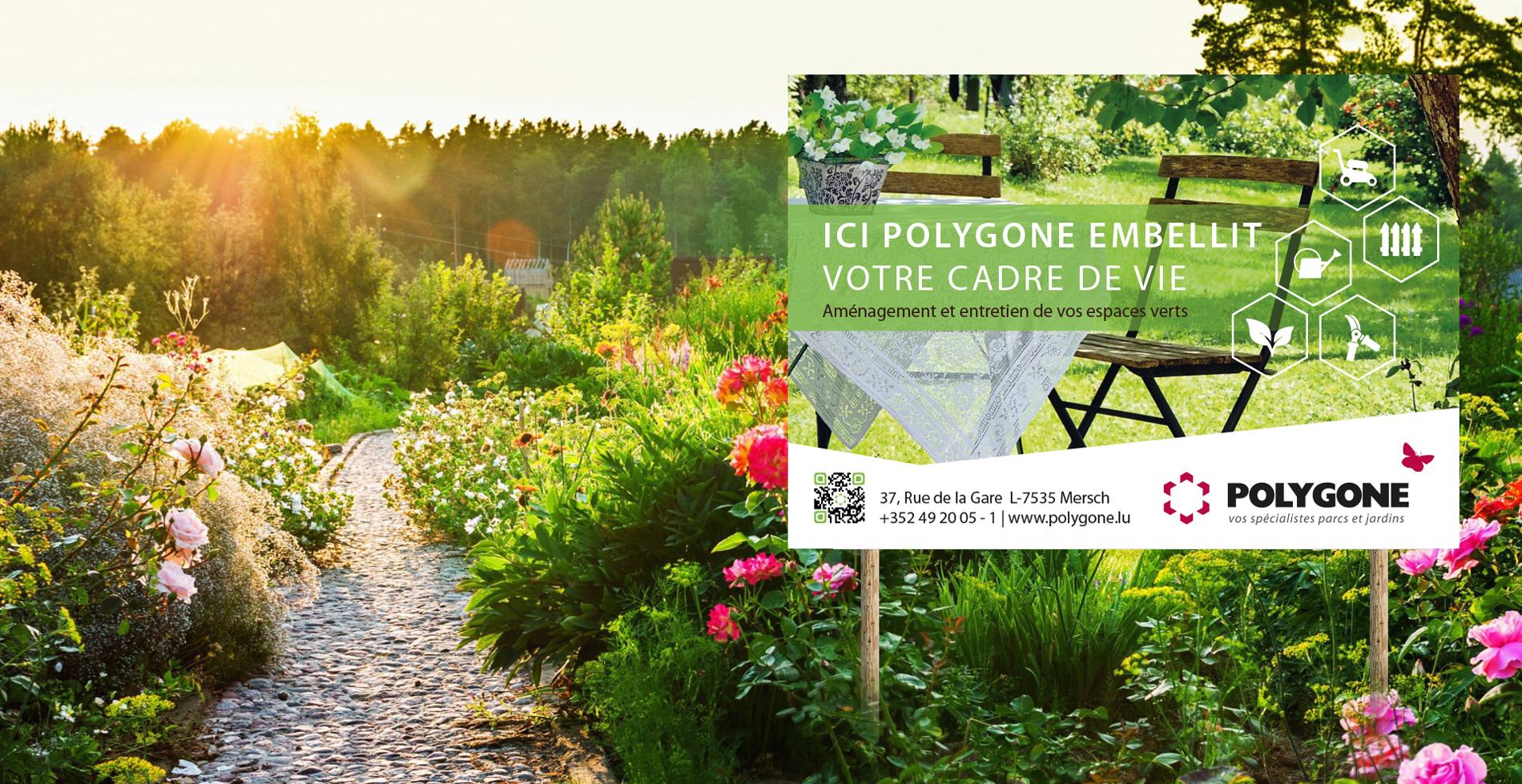 Parc et jardin polygone for Entreprise parc et jardin